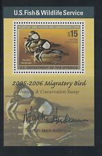 RW72B - Federal Duck Stamp Mini Sheet. MNH.OG. Very Nice Center.   #02 RW72B