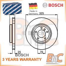 2x BOSCH FRONT BRAKE DISC SET BMW OEM 0986478012 34116855156