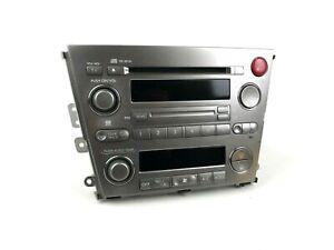 2004 - 2009 Subaru Legacy Outback CD Stereo Climate Control Head Unit 86201AG430