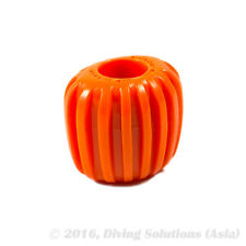 Scuba Diving Dive Tank Cylinder Valve Knob -Oval Design for Better Grip, Orange