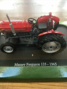 Hachette Massey Ferguson 135 Tractor 1965 Scale 1:43