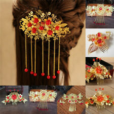Chinese Classical Women Hairpin Hair Step Shake Alloy Tassel Bride Accessories