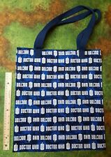 Doctor Who Blue Logo tote bag