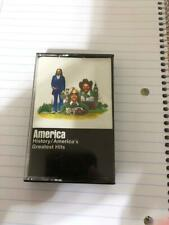 America  History/America's Greatest Hits Cassette Tape 1975 (Warner Bros)