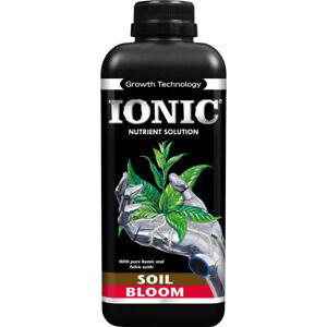Growth Technology Ionic Soil Bloom 1L Plant Nutrient Hydroponics 1 Litre