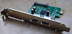 Hewlett Packard HP CHI314PCB-2 REV:2.4 USB 3.0 Host Add in Card PCIe2 x1 10W + E
