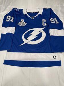 Tampa Bay Lightning Home Jersey STAMKOS Size 50