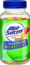 6 Pack - Alka-Seltzer Heartburn Relief Chews, 36 Each