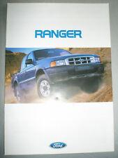 Ford Ranger brochure May 1999