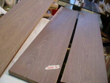 "3 Pc. Black Walnut Lumber craft wood . Woodworking Planed 3/4"" X 8 5/8"" X 50"""