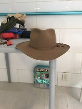 Akubra Hat 55 or 6 7/8. Snowy River.  Special Import