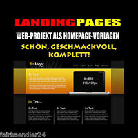 ►LANDING PAGES WEB-PROJEKT MIT HOMEPAGE-VORLAGEN WEBSITES WEBSEITEN WOW E-LIZENZ