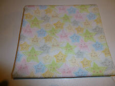 Smiling Stars ,Red Rooster Sweet Dreams Stars 100% cot, Quilting/Craft/Patchwork