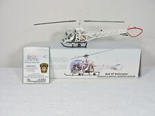 Pennsylvania State Police Bell 47 Helicopter 1/43 Scale -  O Scale