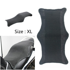 Motorcycle Cool Seat Cover Mesh Cushion Heat Sunscreen Protector Pad Universal
