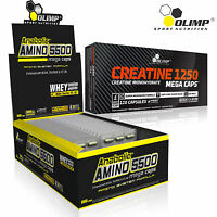 Anabolic Amino Acids 5500 + Creatine Monohydrate 60/180 Caps BCAA Muscles Growth