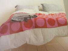 PatternTo Knit  Large Spot Design Blanket in 2 Colours Of Aran Yarn-72 x 46ins