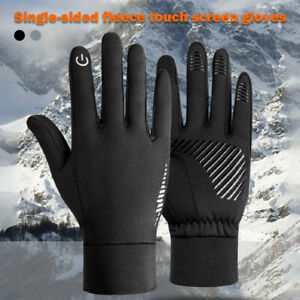 Warm Riding Gloves Plus Velvet Silicone Windproof Waterproof Outdoor Ski Cycling