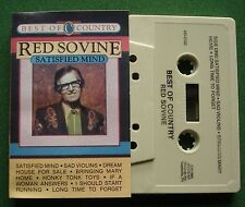 Red Sovine Best of Country Satisfied Mind Starday N5-2128 Cassette Tape - TESTED