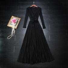 Unbranded Long Wrap Dresses