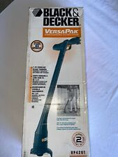 Black & Decker VersaPak VP420T Trimmer Rare Requires 2 Versa Batteries & Charger