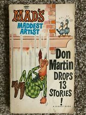 MAD'S MADDEST ARTIST DON MARTIN DROPS 13 STORIES