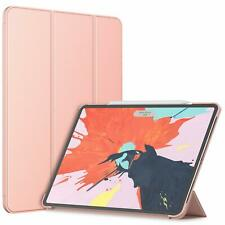 Case For iPad Pro 12.9 Stand Magnetic Smart Auto Wake Sleep Cover Slim Rose Gold