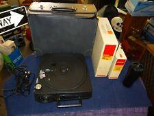 Kodak Carousel 760H Slide Projector W/Hard Case & Extras (Working Lamp)!!