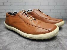 Olivier Lace Up Brown Leather Shoe Men sz 10.5