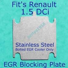 EGR valve blanking plate Renault Dacia 1.5 DCi Magane Luguna Clio Scenic Modus