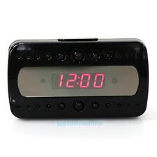 1080P Spy Camera Alarm Clock Motion Detection Hidden DVR TF Record/ Night Vision