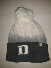 Duke Blue Devils Ladies Top of the World  Knit Hat  Cuffed with Pom