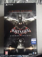 Sur PS4 - BATMAN ARKHAM KNIGHT LIMITED EDITION COLLECTOR - NEUF (scellé) - VF