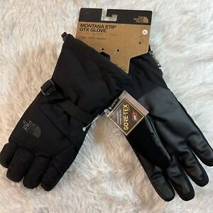 The North Face Montana Etip Gore-Tex Gloves Size XL Black Ski Snowboarding