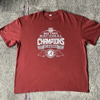 2012 NCAA Alabama Crimson Tide National Champions Shirt Mens 3XL