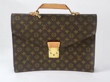 Louis Vuitton Brown Monogram Serviette Conseiller Attache Briefcase M53331