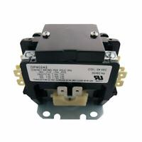 OEM Supco DP40242 2P Definite Purpose A/C Contactor 40 FLA Coil 24 VAC 50/60Hz