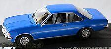 Opel Commodore B GS/E Coupe 1972-77 Blue Blue 1:43 Ixo