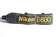Nikon D800 Genuine DSLR Camera Neck Strap / AN-DC6