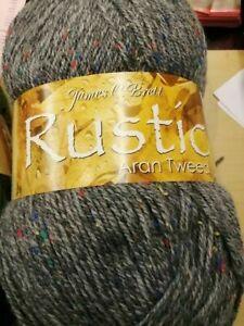 James C Brett/ Woolcraft/Sirdar  Aran 400gr Ball 20% Wool Various Colours BN