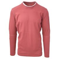 Kuhl Men's Sundried Tomato Bravado Born In The Wild L/S T-Shirt (Retail $50)
