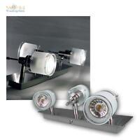 COB LED éclairage de salon GBA, Aluminium / Verre Plafonnier Luminaire Plafond