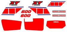 Yamaha XT 600 Complete Decals Stickers Kit Vinyl Graphic Set Aufkleber Adesivi