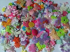 Lot 10 fleurs mélange décoration mixte Décoration Accessoires Scrapbooking