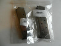 Colt 1911 Gov't OEM Magazine;  Holds 8 Rounds of 45;  Lot of 2 SS Mags ;  574001