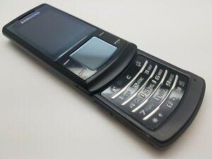 Working Retro Samsung Soul U900 Soul - Black (Unlocked) Mobile Slider Phone