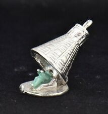 Mercury Spacecraft OPENS Astronaut Inside Sterling Silver Charm Space Capsule 3D