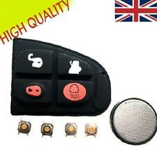 Jaguar X Type XF XJ XK E S 4 Button Flip Remote Key Fob Case Full Repair Kit