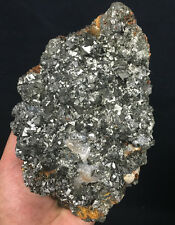 2020g Natural black Andradite Garnet Crystal  Quartz Inner Mongolia ip0268
