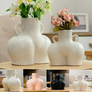 Vase Human Body Bum Nude Abstract Flower Vase Home Decoration 3 Colours